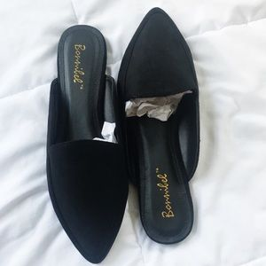 nwb • forever 21 • loafer mules flats size 5.5